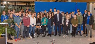 50 Auszubildende aus Kehl und dem Hanauerland besuchten das Europaparlament in Straßburg.