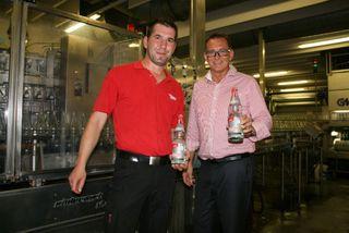 Geschäftsleiter Duschan Gert (rechts) mit Produktionsleiter Gunnar Stahn
