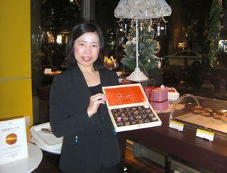Die Eröffnung des ersten Gmeiner-Shops in Japan ist geplant, die Pralinen des Chocolatiers kann man dort schon versuchen.