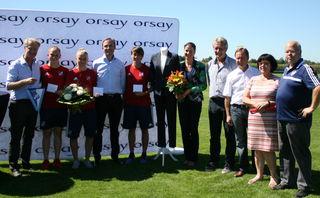 Das Modeunternehmen Orsay mit Sitz in Sand hat mit dem SC Sand einen Sponsorenvertrag unterschrieben.