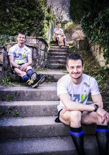 Ist meistens schon da, wenn andere noch laufen: Thomas Dolds Sportgerät ist die Treppe.