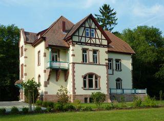 Das Landhaus Illenau – umgeben von einer Parklandschaft