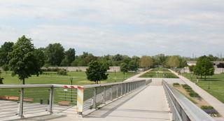 Im Park auf der französischen Rheinseite finden im Mai und Juli einige Veranstaltungen statt.