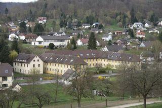 Soll psychosomatische Klinik werden: Das Areal St. Landelin mit dem ehemaligen Gast- und Badehaus des Klosters Ettenheimmünster.
