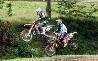 Die Rennen boten zahlreiche spannende Szenen auf der Strecke am Pflingstberg.