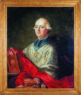 Unter den Ölgemälden, die nach dem Tod von Kardinal Rohan in Ettenheim verblieben und sich im Bürgersaal des Ettenheimer Rathauses befinden, ist auch die Darstellung des Louis-René-Edouard, Prince de Rohan-Guémené.