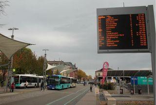 Synonym für Offenburgs Rendevouz-System im Öffentlichen Personen-Nahverkehr: Am Busbahnhof treffen sich die Linien.