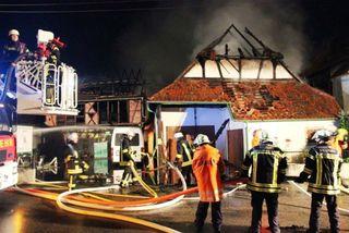 Der vierte Brand seit Ostern, der dritte binnen 14 Tagen: die Polizei hat eine Ermittlungsgruppe installiert.