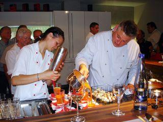 Gerhard Volk zauberte vom Grill
