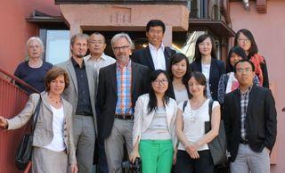 Acht chinesische Nachwuchsjournalisten begeisterten sich nicht nur für Ettenheims Umwelt- und Klimaschutz – auch die Altstadt kann sich sehen lassen.