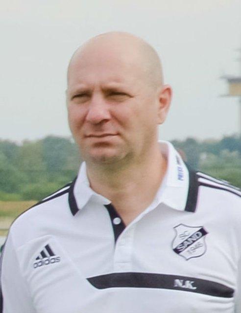 Niko Koutroubis will im Pokal und in der Liga gegen Duisburg gewinnen.