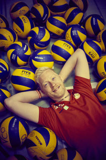 Der Volleyball bestimmt das Leben von Christopher Röder. Als Berufsziel kann sich der Sportbegeisterte die Stelle als Landestrainer mit Anbindung an eine Sportschule vorstellen.