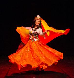 Annette Gündel alias Amira el Amar kam vom Ballett zum orientalischen Tanz.