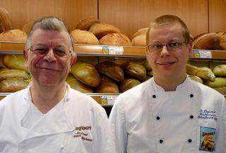 Gottfried und Dominik Siegwart, Bäckerei Siegwart, Offenburg