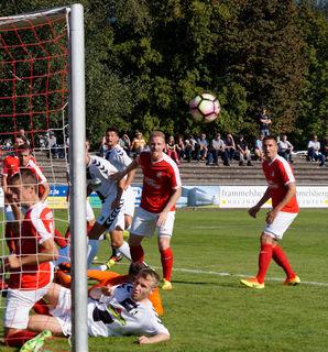 Der OFV kämpfte vergebens – am Ende verloren die Rot-Weißen knapp mit 1:2 beim SV Sandhausen.