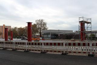 Bis zur Landesgartenschau soll der Bahnhof barrierefrei und der Busbahnhof neu hergerichtet sein. Archiv: rö