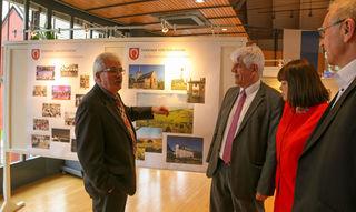 Ortsvorsteher Richard Haas, Oberweier, begrüßte Bürgermeister Gilbert Roth, dessen Stellvertreterin Madelaine Jantzen und Clauss Bernard aus der Partnergemeinde Dorlisheim.