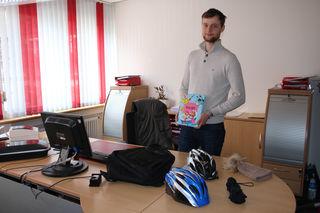 Andreas Rossberg vom Oberkircher Fundbüro bereitet zurzeit alles für die Versteigerung der Fundsachen am 24. März vor.
