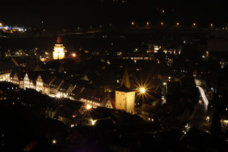 Gengenbach bei Nacht