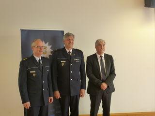 V. l.: Joachim Metzger, Reinhard Renter und Roland Haug