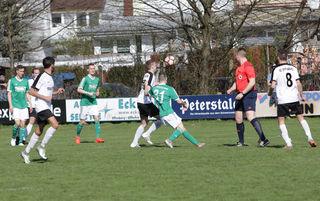 Bei beiden Mannschaften gab es gestern in der Offensive kaum Aktionen.