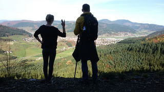 Auf der Wanderung von Hofstetten nach Haslach