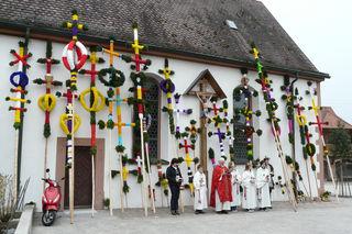 Palmweihe in Unterentersbach
