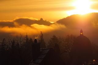 Sonnenaufgang in Lahr