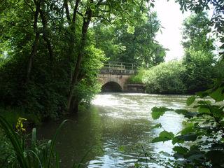 Alte Mühlbachbrücke in Ichenheim