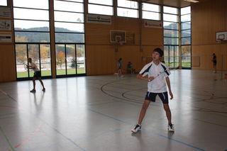 Mit Liam Ressel (r.) gewann der FC Kirnbach Mitte März erstmals die Südbadische Jugend-Meisterschaft im Herren-Einzel.