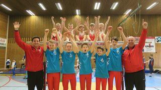 Großer Jubel herrschte bei den Turnern der Wettkampfgemeinschaft TG Altdorf, TV Herbolzheim und TV Ettenheim.