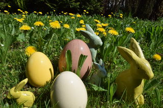 An Ostern werden ganz besondere Feiertage begangen.