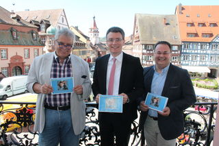 Der Gengenbacher Kultursommer steht bevor: Gerd Birsner, Thorsten Erny und Lothar Kimmig (v.l.) stellten das Programm vor.