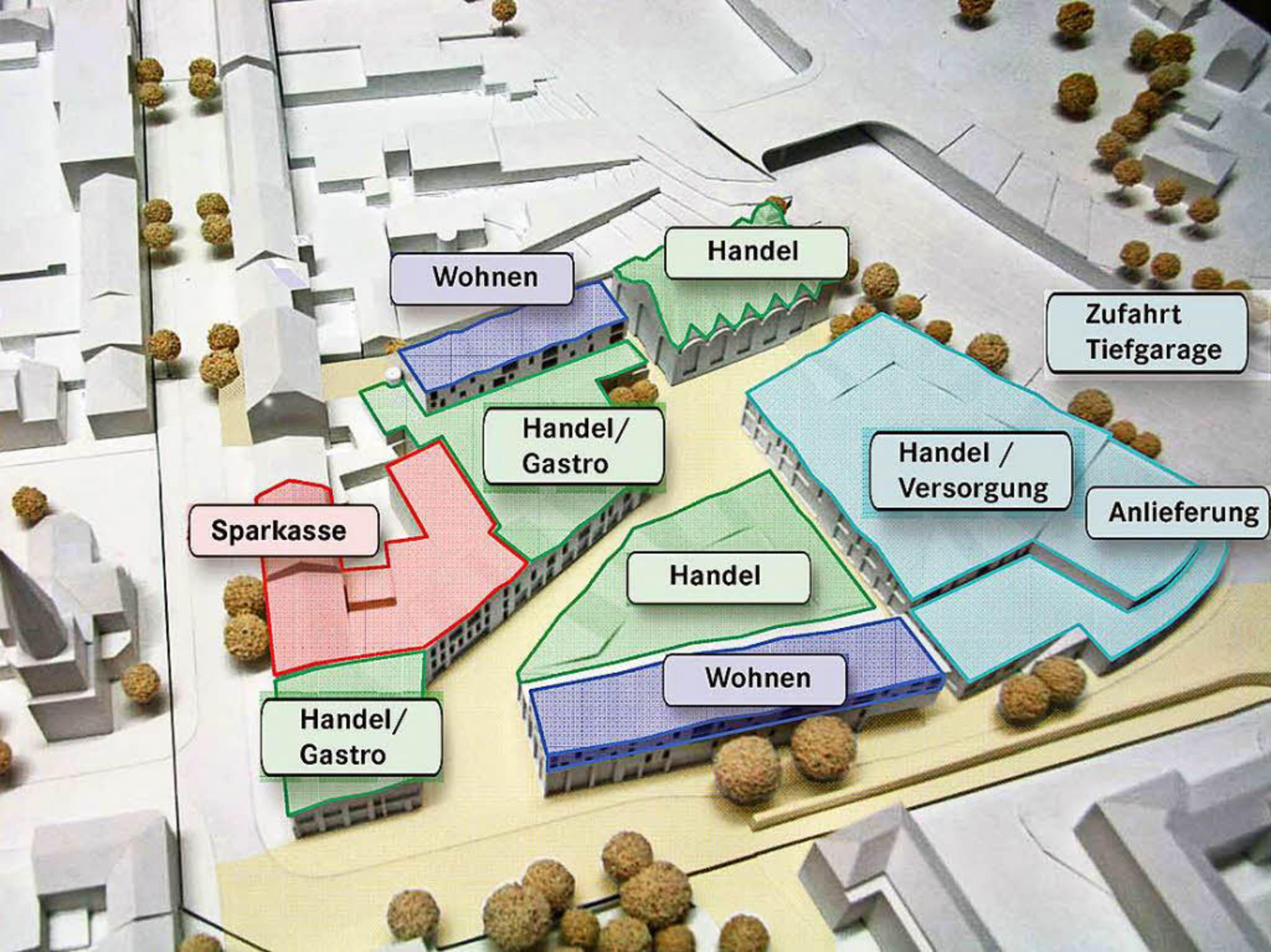 Der Bebauungsplan für die nördliche Innenstadt gilt.