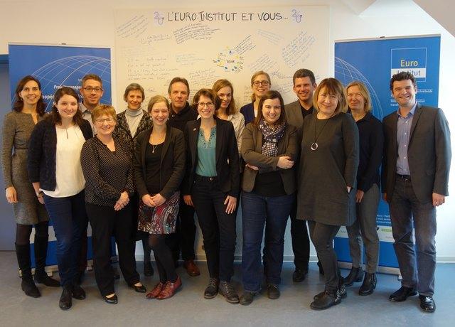 Kompetent und flexibel: das Team des Euro-Instituts
