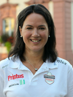 Mit dem Ende dieser Saison will Trainerin Tanja Scheuer eine Saison aussetzen. Ende März kam ihr zweites Kind zur Welt.