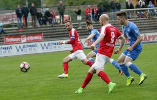 Der Offenburger FV hatte im Heimspiel gegen Pforzheim alles im Griff und gewann mit 2:1.