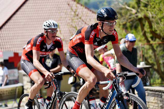 Die Radfahrer der RACING STUDENTS befinden sich in einer beachtlichen Form und platzieren sich im Vorderfeld.