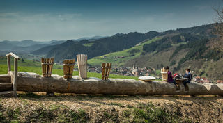 """Oberharmersbach verfügt über eine neue Attraktion, den Schwarzwälder Genießerpfad """"Harmersbacher Vesperweg""""."""