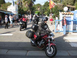 Alle zwei Jahre wird an Christi Himmelfahrt von Wolfach aus eine Motorradreise nach Cavalaire-sur-mer angeboten.