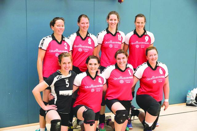 Das erfolgreiche Team der Ü31-Seniorinnen des VC Offenburg