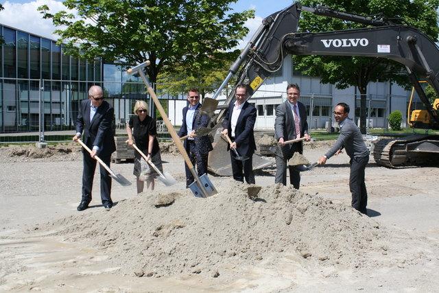 Brunner Group Investiert In Rheinau Spatenstich Für Innovation