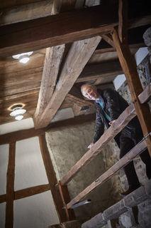 Schon über 100.000 Menschen hat Arthur Hilberer zum Lachen gebracht. Darauf ist der erste Vorstand der Burgbühne Oberkirch stolz.