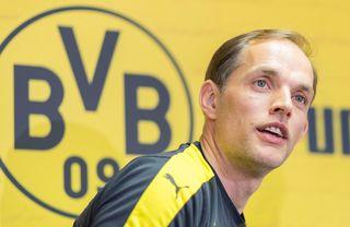 Dortmunds Ex-Trainer Thomas Tuchel bedankte sich bei den Fans für den Zuspruch.