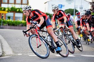 Die Racing-Students machten beim Rennen in Holzhausen das Tempo.