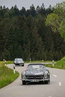 Die Rallye ist eine Gleichmäßigkeits- und Zuverlässigkeitsprüfung. Foto: Motorpresse