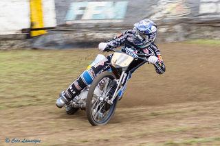 Max Dilger hatte beim Rennen im französischen St. Macaire viel Pech und konnte sich nicht fürs EM-Finale qualifizieren.
