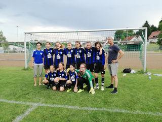 Die erfolgreichen Nachwuchsspielerinnen des SC Lahr