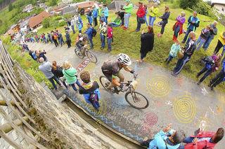 Beim Ultra Bike Marathon in Hinterzarten müssen kräftezehrende Aufstiege überwunden werden.