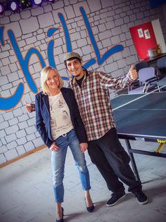 Susanne Droste und Nick Schneider kümmern sich um die Belange der Oppenauer Jugendlichen.